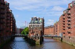 Hamburgo, Alemania fotografía de archivo libre de regalías