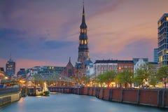 Hamburgo, Alemania fotografía de archivo