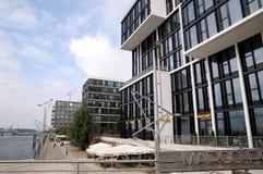 Hamburgo - el polo del marco terracen Foto de archivo libre de regalías