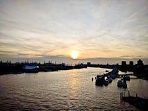 Hamburgo en primavera Fotos de archivo libres de regalías