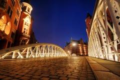 Hamburgo Hafencity fotos de archivo libres de regalías