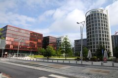 Hamburgo - Hafencity Imagens de Stock