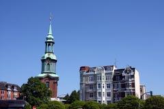 Hamburgo; igreja, Alemanha Imagens de Stock Royalty Free