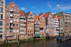 Hamburgo Nikolaifleet Imagen de archivo