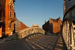 Hamburgo Speicherstadt Imagenes de archivo