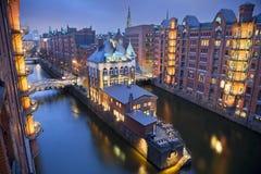 Hamburgo Speicherstadt. fotografía de archivo libre de regalías