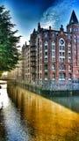 Hamburgo Speicherstadt Foto de Stock Royalty Free