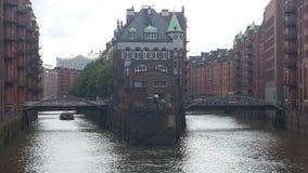 Hamburgo Speicherstadt fotografía de archivo