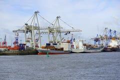 Hamburgs Harbour Stock Photos