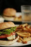 Hamburguer Foto de Stock Royalty Free