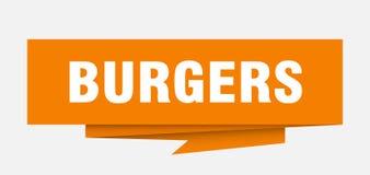 hamburgueres ilustração do vetor