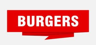 hamburgueres ilustração royalty free