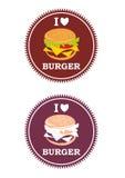 hamburgueres Fotografia de Stock Royalty Free