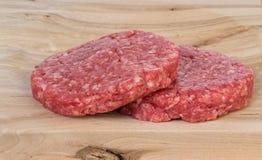 2 hamburguers Стоковое Изображение