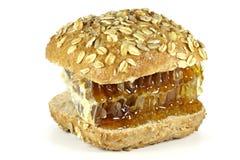 Hamburguesa de la miel de peine Fotos de archivo