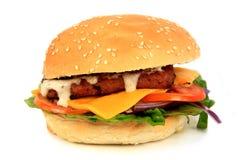 hamburguesa de la salchicha Imágenes de archivo libres de regalías