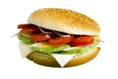 Hamburguesa del Veggie Imagen de archivo