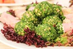 Hamburguesas vegetales Imagen de archivo