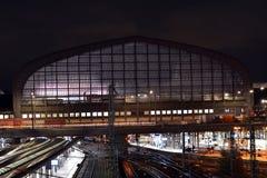 Hamburska główna stacja Zdjęcia Royalty Free