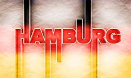 Hamburski miasta imi? obrazy royalty free