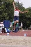 Hamdi Dhouibi at IAAF decathlon meeting Royalty Free Stock Photography