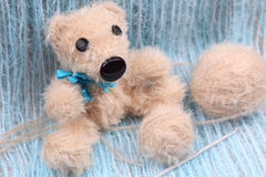Hamdmade Teddy Bear. Stock Images