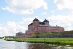Hame forteca. Hameenlinna. Finlandia Zdjęcia Royalty Free