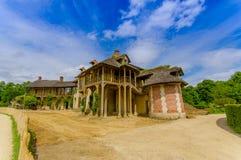 Hameau de Ла Reine, Гамлет ферзя внутри Стоковое Фото