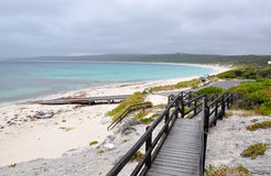Hamelin Bay: Boardwalk Views Royalty Free Stock Photos