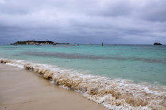 Hamelin Bay: Hamelin Island View Stock Photo
