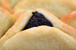 Hamentashen Ozen Haman Purim cookies Royalty Free Stock Photo