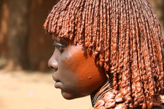 Hamer beauty from Turmi, Ethiopia Royalty Free Stock Photos
