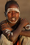 Hamer boy in South Omo, Ethiopia Royalty Free Stock Photography