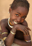 Hamer girl in South Omo, Ethiopia Royalty Free Stock Photography