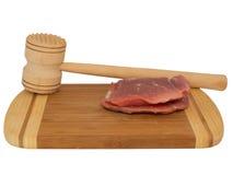 Hamer voor het slaan van het vlees Royalty-vrije Stock Fotografie