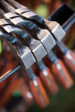 Hamers in de opslag Stock Fotografie