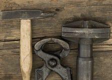 Hamers en buigtang Stock Afbeeldingen