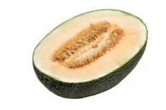 Hami melon cross section Stock Photos