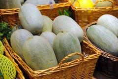 Hami melon (a variety of muskmelon) Royalty Free Stock Photos