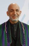 Hamid Karsai Royalty-vrije Stock Afbeeldingen