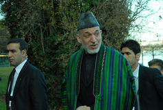 Hamid Karzai Royalty Free Stock Photography
