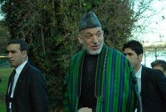 Hamid Karzai Fotografía de archivo libre de regalías