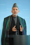Hamid Karzai Stock Photo