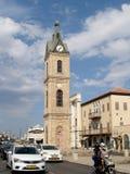 Hamid's clock three-storied tower. Yaffo, Israel Stock Photos