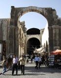 Hamidiye bazaar in Damascus royalty free stock photos
