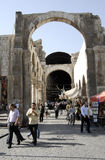 Hamidiye bazaar in Damascus Royalty Free Stock Photography