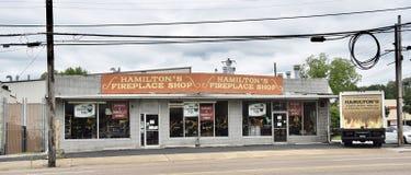 Hamilitons spis shoppar, Memphis, TN fotografering för bildbyråer
