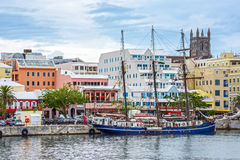 Hamilton Bermuda Seaport Photo stock