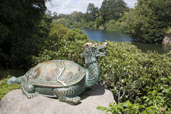 Hamilton Gardens Fotografia Stock Libera da Diritti