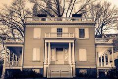 Hamilton Grange em St Nicholas Park em Harlem, Manhattan, New York City, NY, EUA imagem de stock